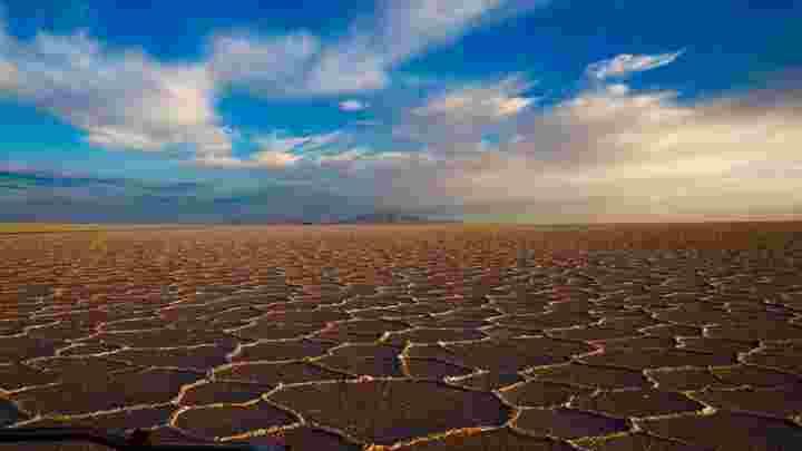 Atacama Salt Flats Tulor, Chile