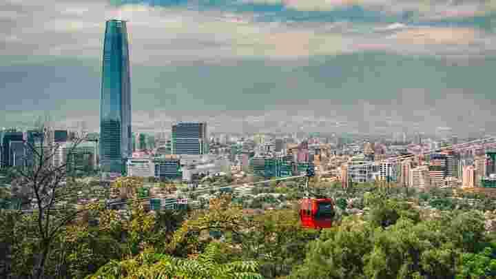 Skyline, Santiago, Chile
