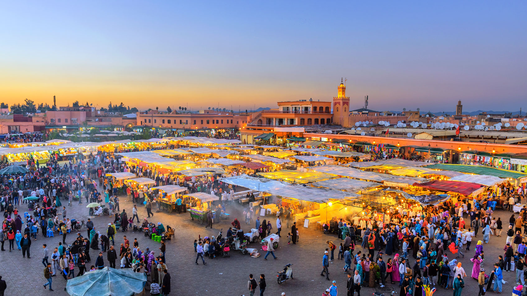 Jemma el'Fnaa, Marrakech, Where to Visit in April