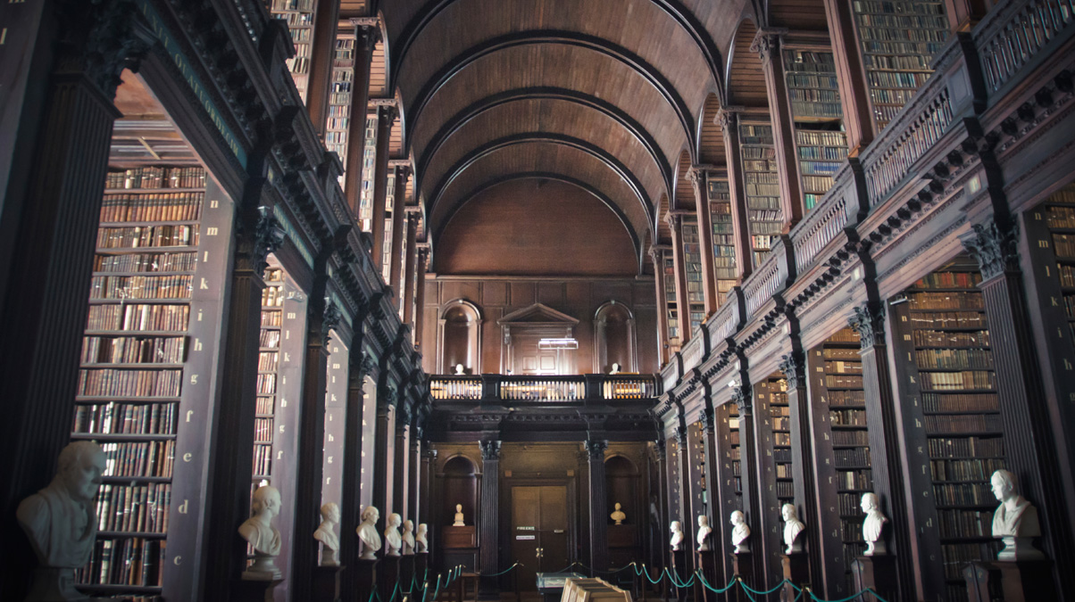 Dublin_Old-library©-meshaphoto_iStock