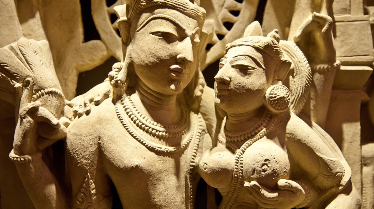 Khajuraho-Uma-maheshvama--credit-iStock-Perseomed-www.istockphoto