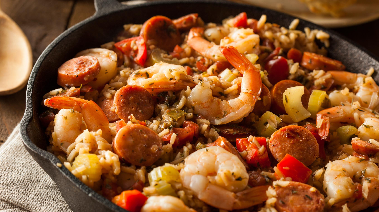 Jambalaya www.istockphoto.com:photo:spicy-homemade-cajun-jambalaya-gm537184559-57774544