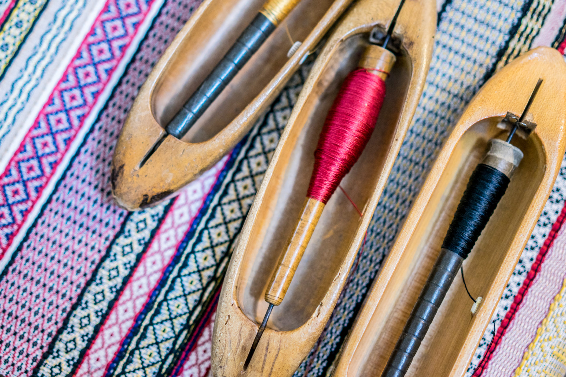 Laboratorio Giuditta Brozzetti weaving workshop in Perugia, Italy