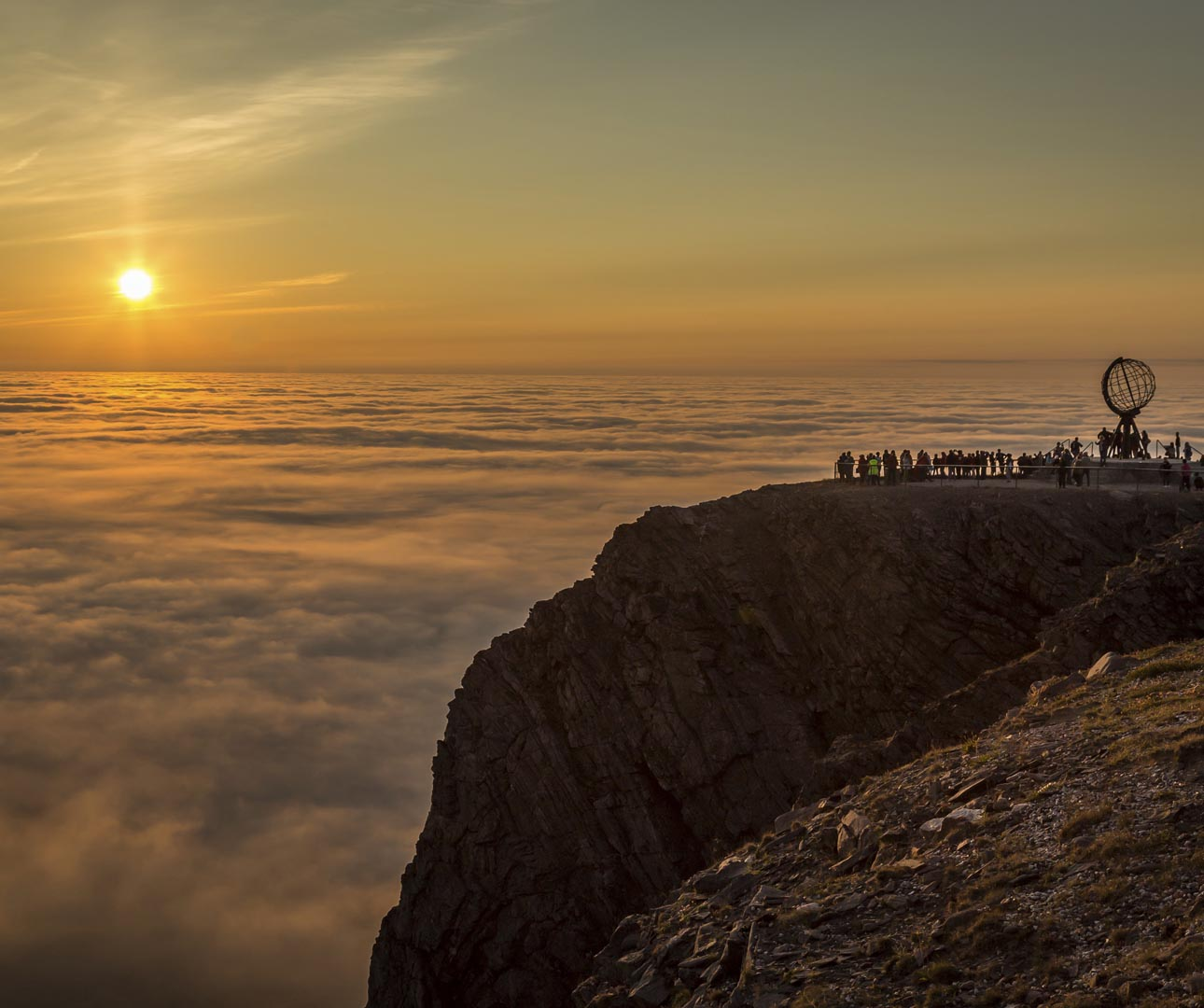 Midnight Sun North Cape