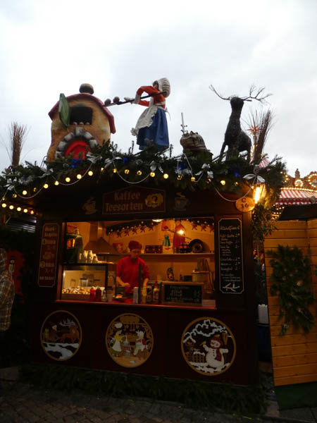 Market Stall from Dresden Christmas Market