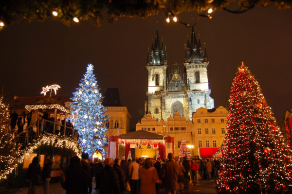 Christmas in Old-town square, Prague