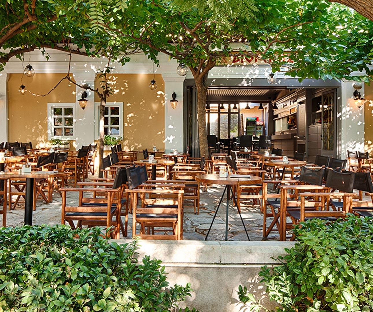 Tavernas in Athens