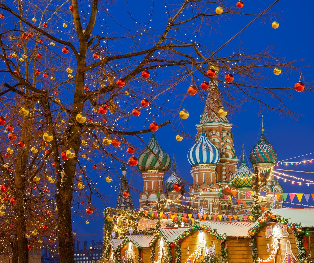 Christmas in St Petersburg