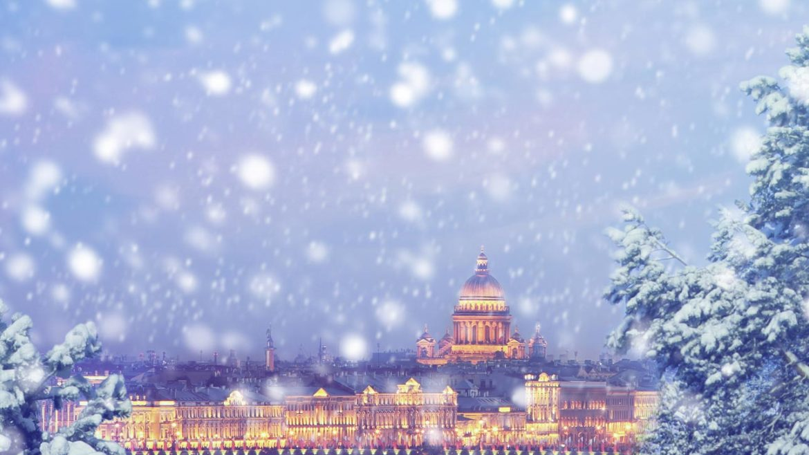 Christmas in St Petersburg