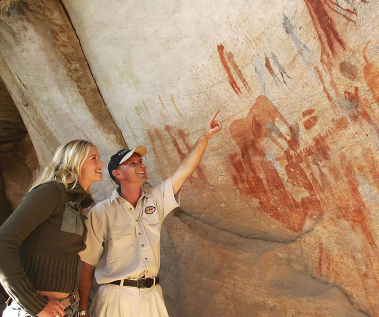 Rock art by our oldest ancestors