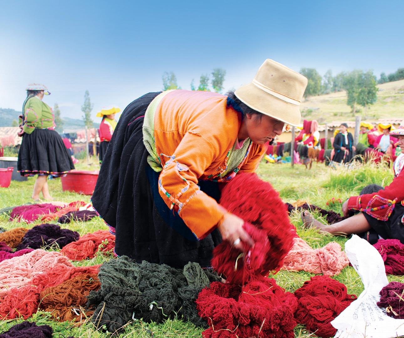 Peruvian-Weaving