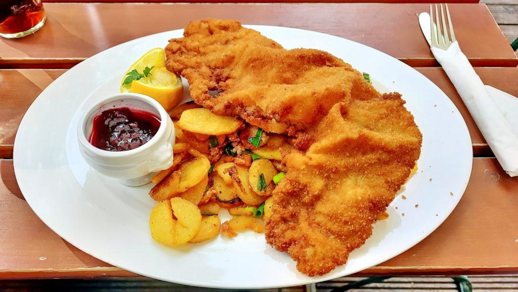 Wiener Schnitzel Austrian dish